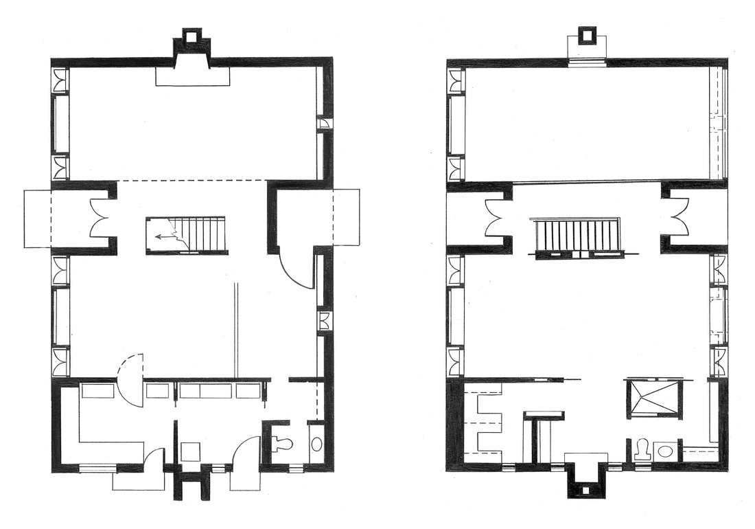 1000 images about esherick house on pinterest house House floor plans online
